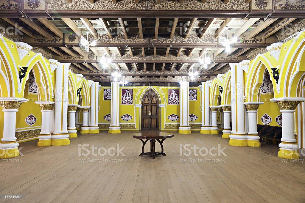 Inside Bangalore Palace stock photo
