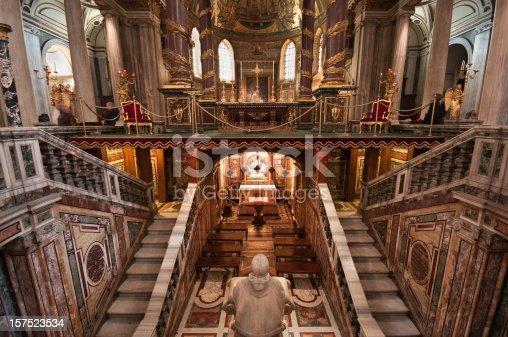 istock Inside Basilica di Santa Maria Maggiore 157523534
