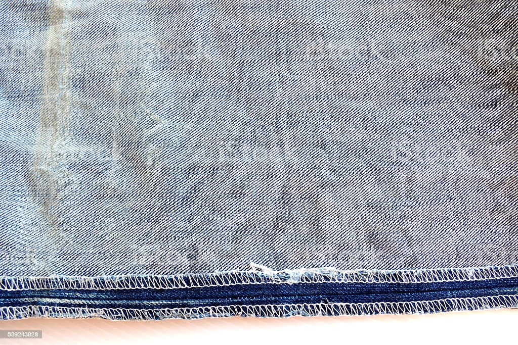 Inside blue jeans texture royalty-free stock photo