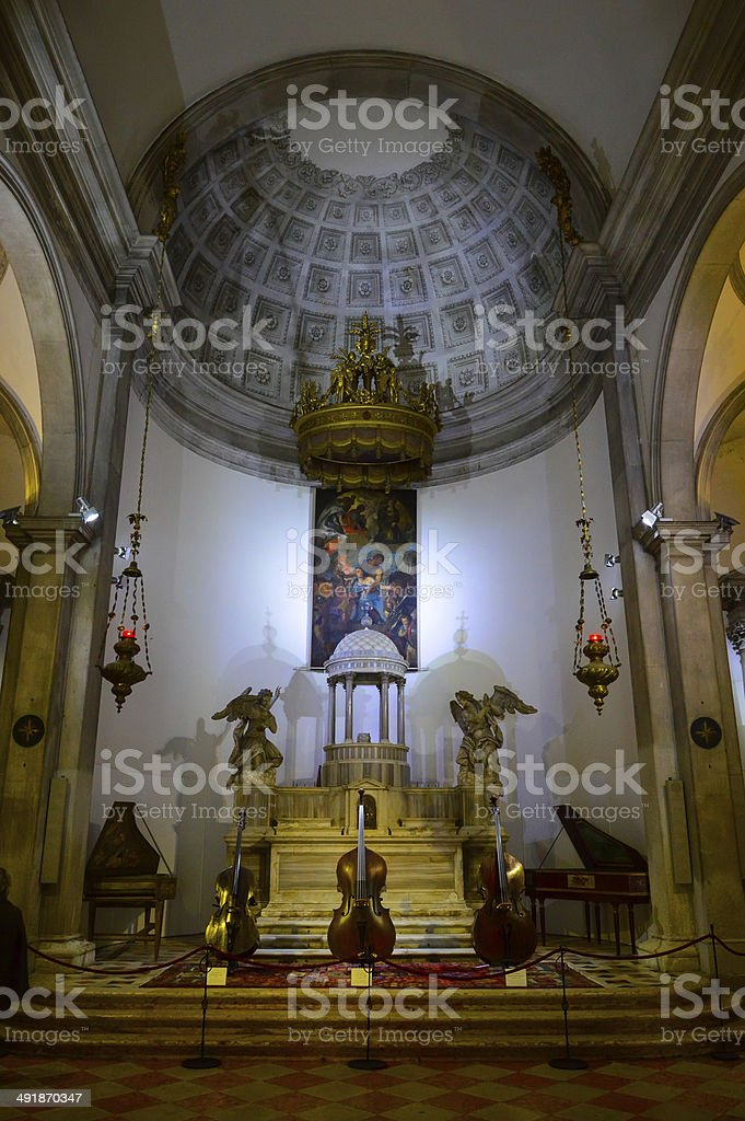 Inside Cathedral royalty-free stock photo