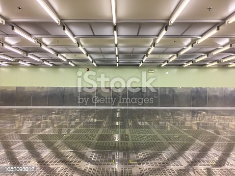 istock Inside Clean room at factory,empty room,industrial 1052093012