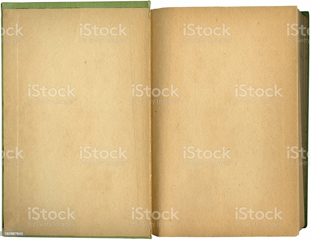 Inside cover royalty-free stock photo