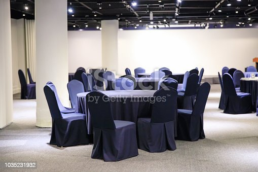 847512708 istock photo Inside empty conference hall 1035231932