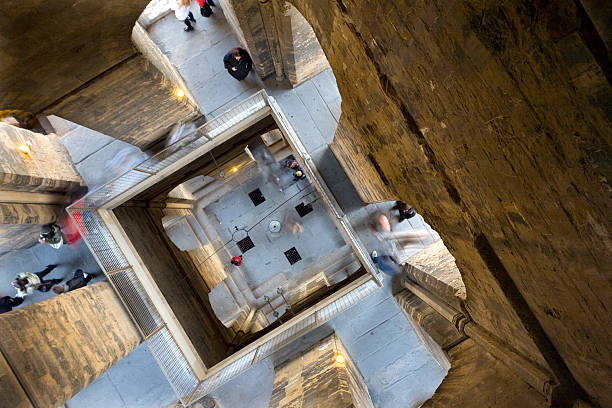 Inside Giotto's Bell Tower  bell tower tower stock pictures, royalty-free photos & images