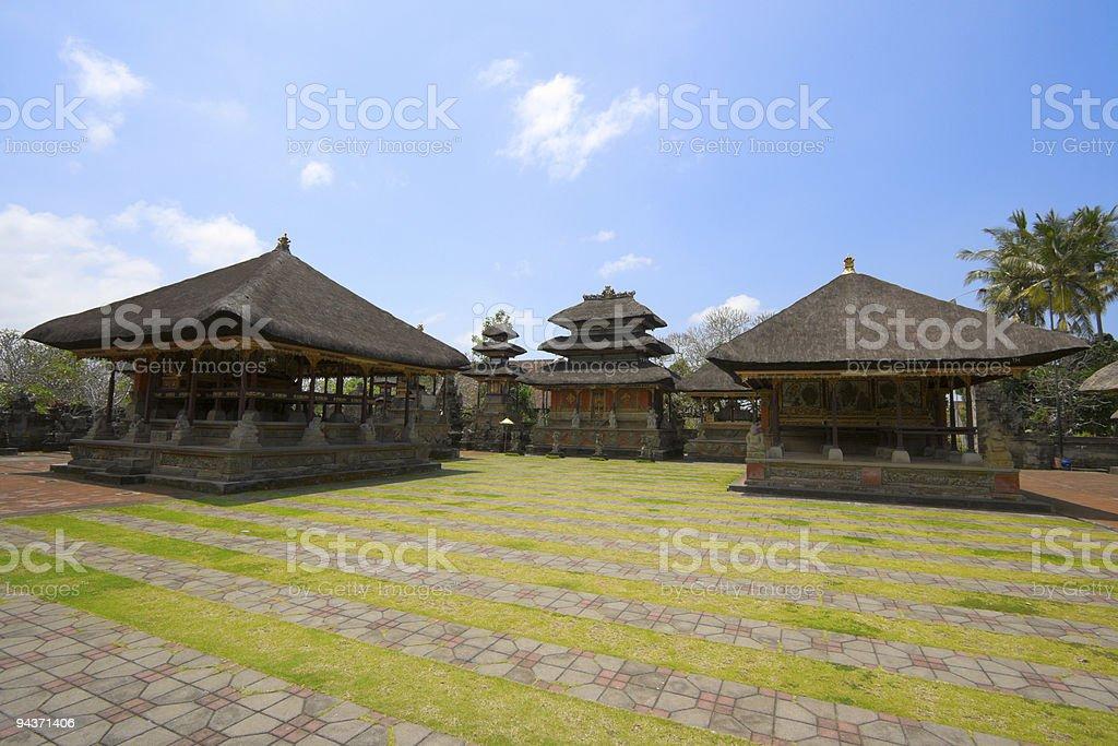 Inside Hindu temple royalty-free stock photo