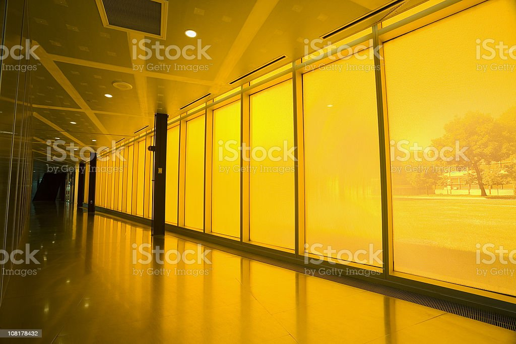 Inside IIT Campus Center royalty-free stock photo
