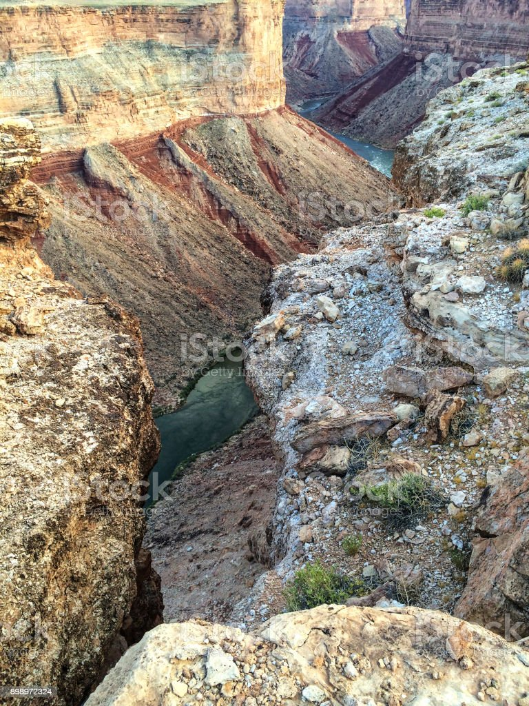 Inside Marble Canyon stock photo