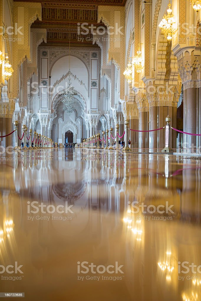 inside Mosque royalty-free stock photo