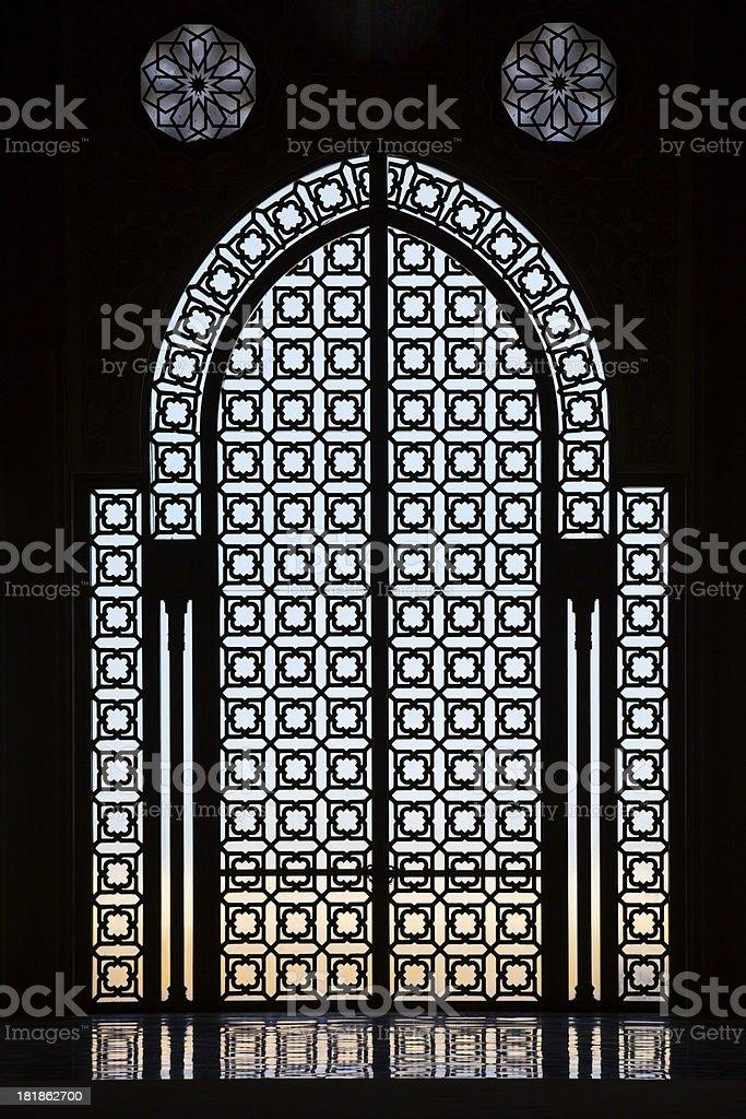 Wewnątrz Meczet zbiór zdjęć royalty-free