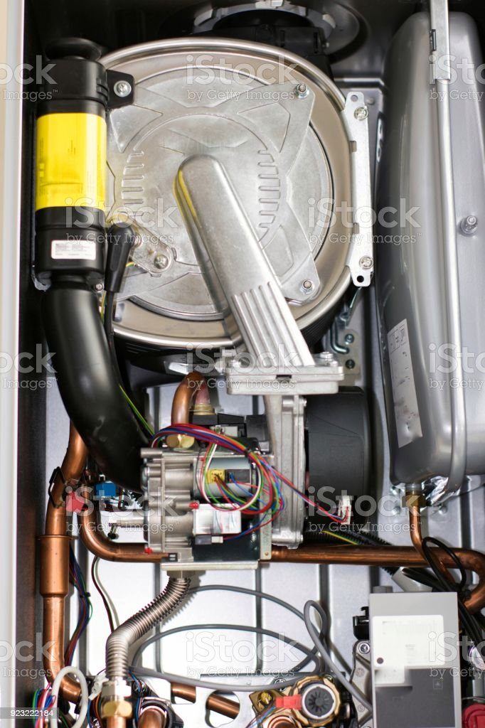 Inside Of A Gas Boiler Stock Photo & More Pictures of Air Pump   iStock