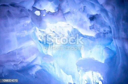 istock Inside of a glacier 1098324270