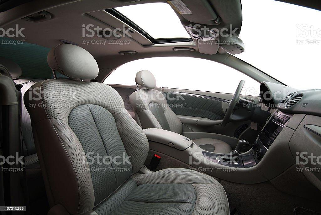 Innerhalb eines neuen Auto – Foto