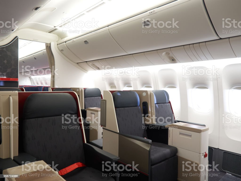 Inside Of Airplane / Aircraft