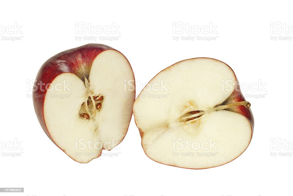 Inside of an Apple stock photo