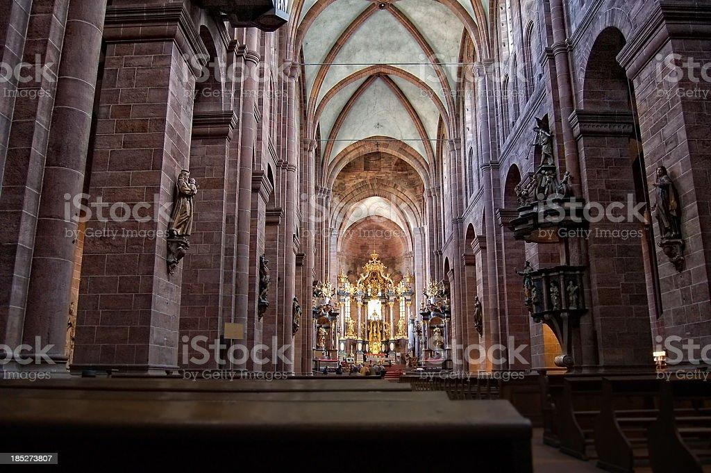 À l'intérieur de la cathédrale Saint Peter in vers l'Allemagne - Photo