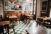 istock Inside of city cafe in Buenos Aires 1254911300