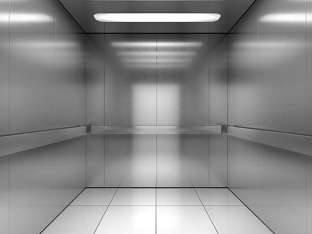 interno di ascensore - ascensore foto e immagini stock