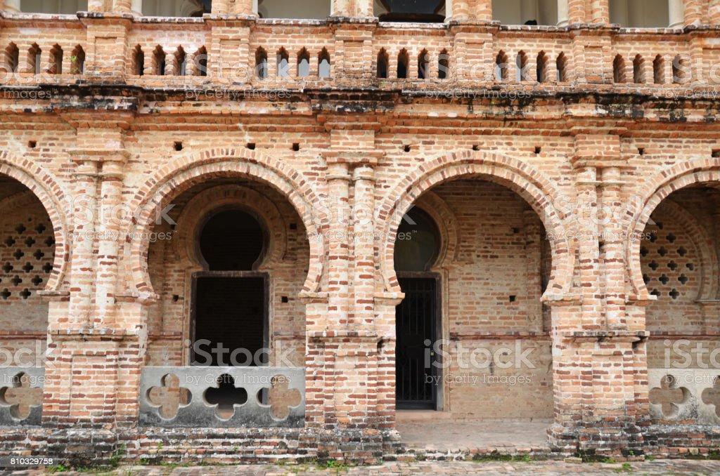 Inside of Kellie's Castle located in Perak Malaysia stock photo