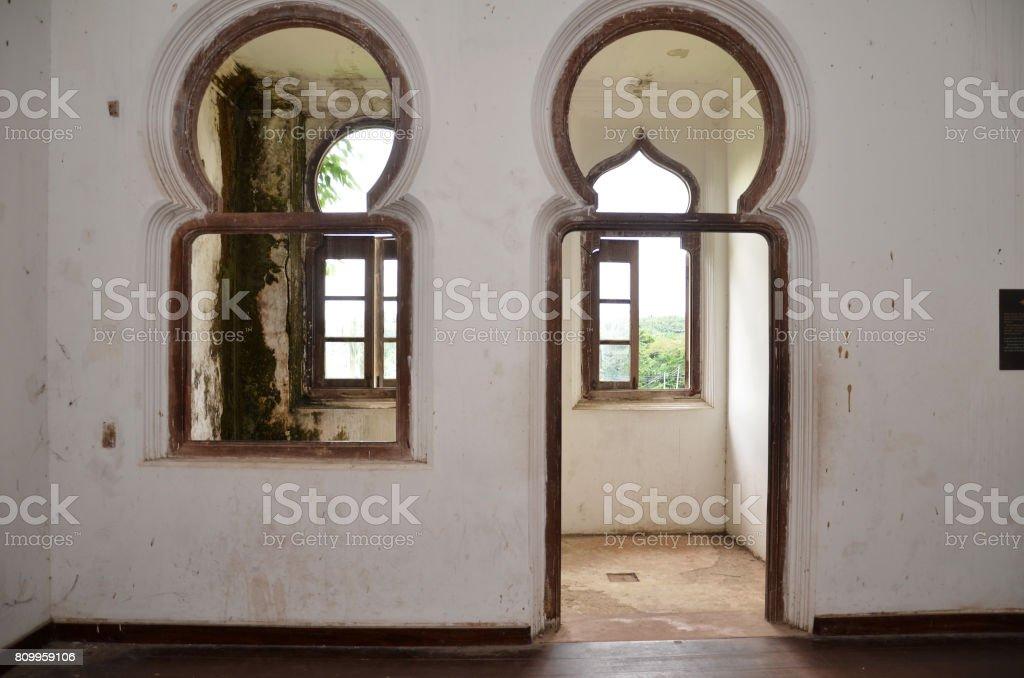 Inside of Kellie's Castle stock photo