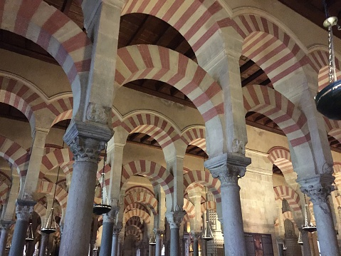 Inside of Mezquita, Cordoba
