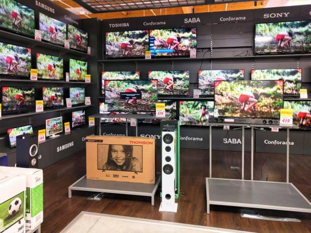 Im Inneren des Conforama Stores im TV-Sender – Foto