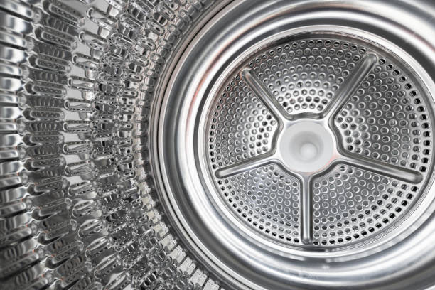 Dentro de los detalles de la secadora de secadora - foto de stock