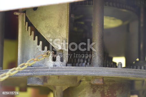 Inside Old fuel pump