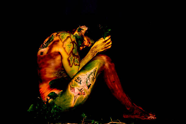 Inside out Inside out (bodypaint) body paint stock pictures, royalty-free photos & images