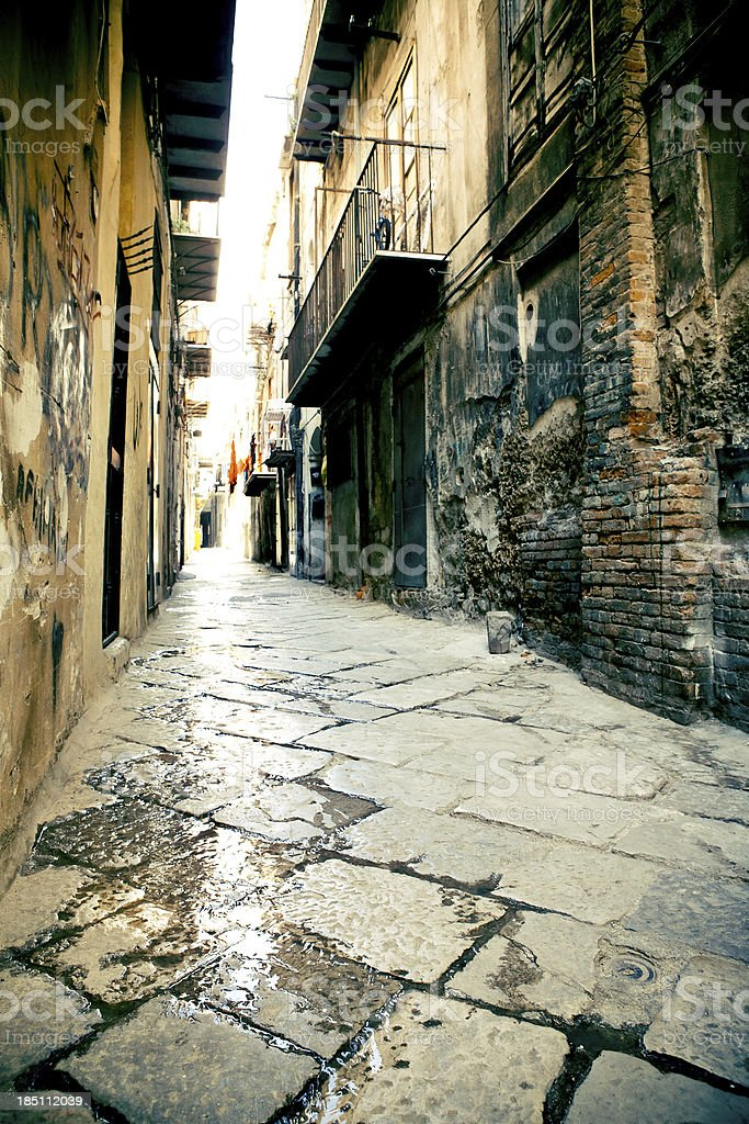 Inside Palermo royalty-free stock photo