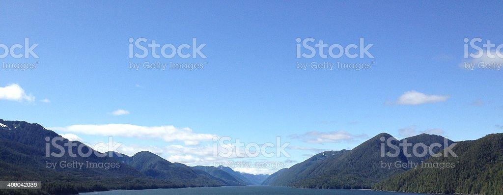 Inside Passage, Alaska stock photo