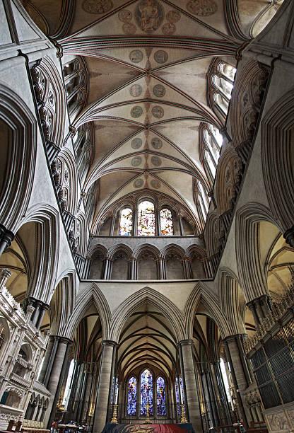 Innen Kathedrale von Salisbury – Foto