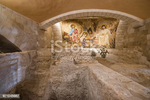 istock Inside the Basilica of the Annunciation 921045682