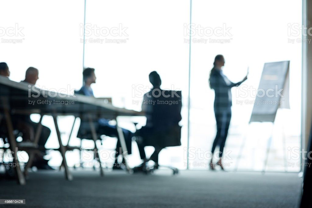 Inside the company think tank stock photo