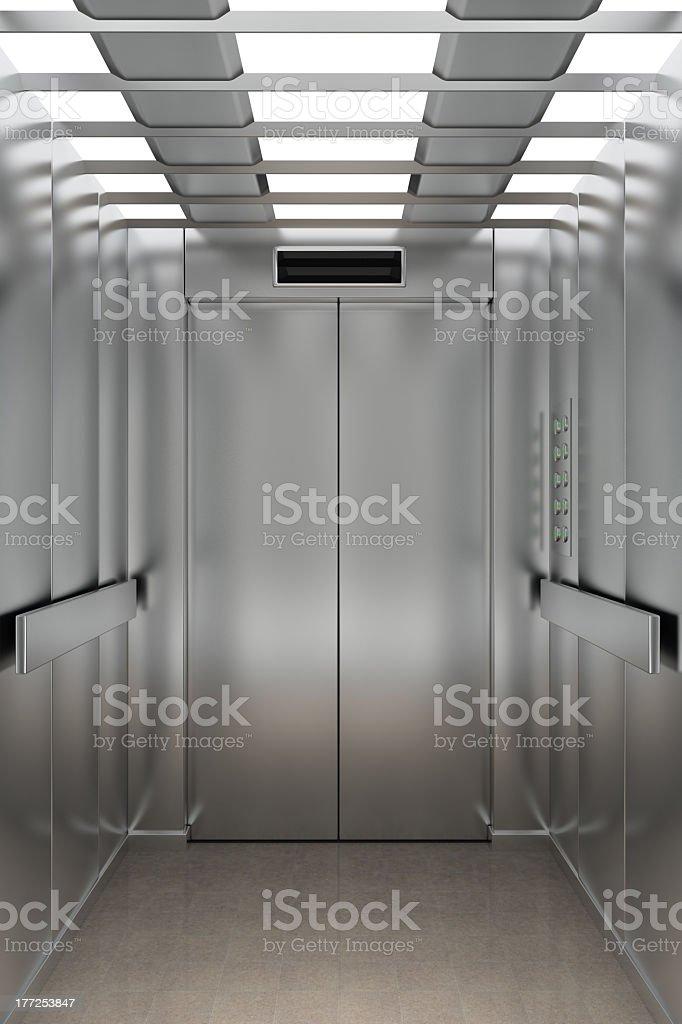 Ein Aufzug innen – Foto
