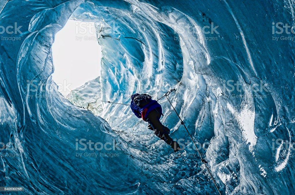 Im glacier Lizenzfreies stock-foto