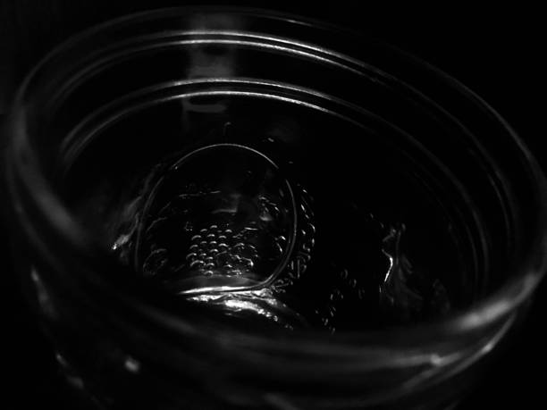 Inside the Mason Jar stock photo
