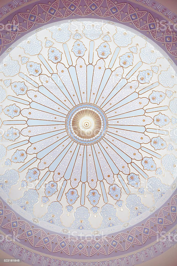 Im Inneren der Moschee, Malaysien – Foto