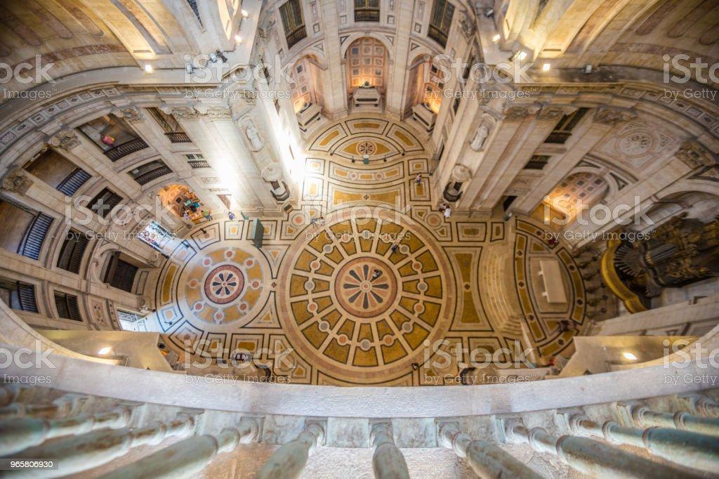 Binnen de nationale Pantheon van Lissabon - Royalty-free 2015 Stockfoto