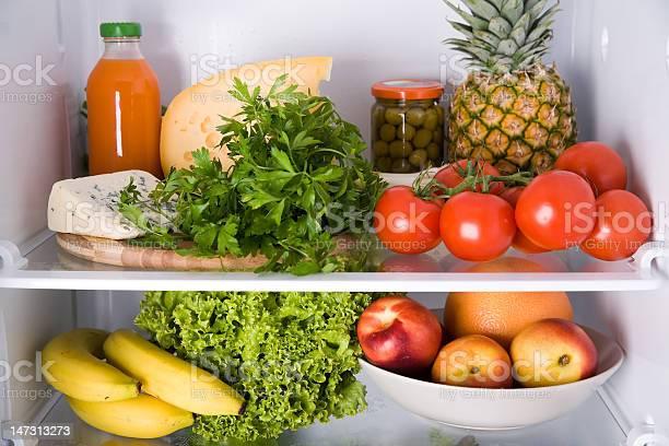Dentro Del Refrigerador Foto de stock y más banco de imágenes de Abundancia