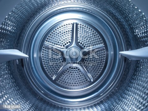 Inside the steel drum of a washing machinePlease see some similar pictures from my portfolio: