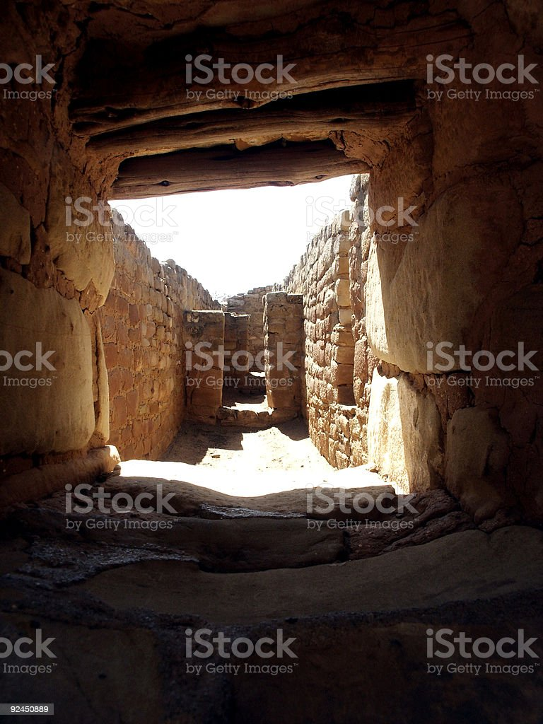 Inside the Sun Temple royalty-free stock photo