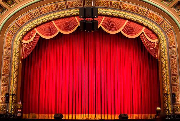 im theater - stage musical stock-fotos und bilder