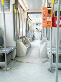 istock Inside tram line 94 in Brussels, belgium 458084017