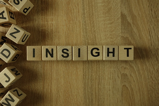 istock Insight word from wooden blocks 1145415329