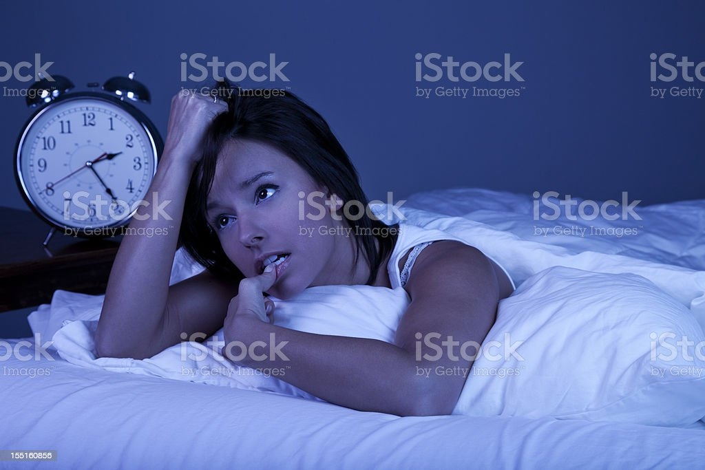 Insomnia royalty-free stock photo