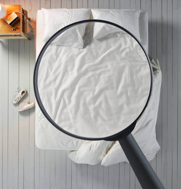 Begestellen von bequemes Bett – Foto