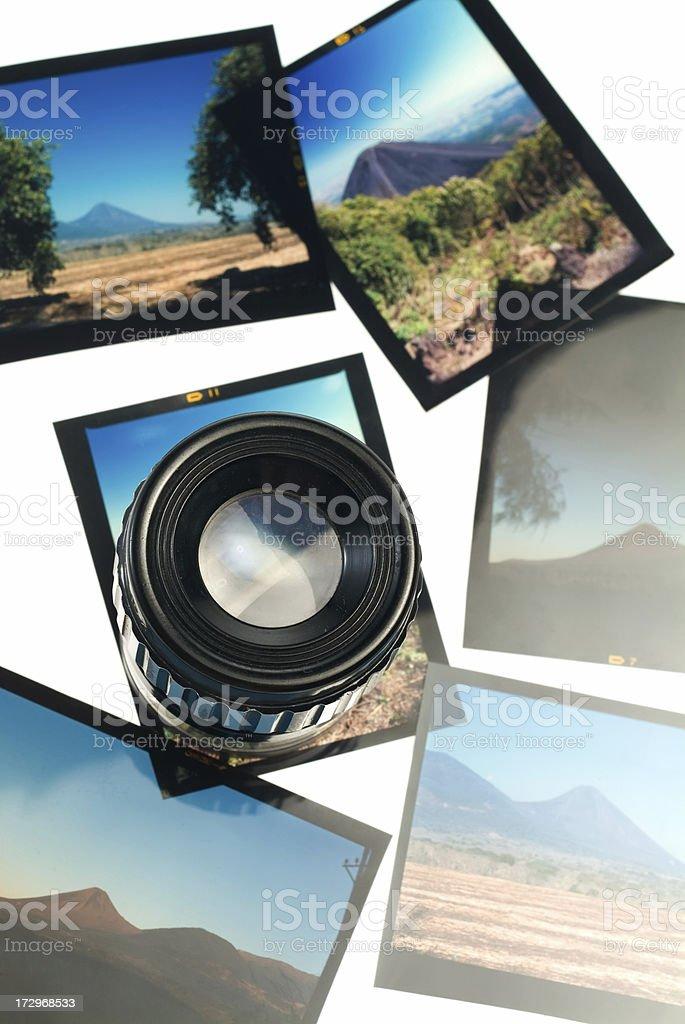 Inspecting film stock photo