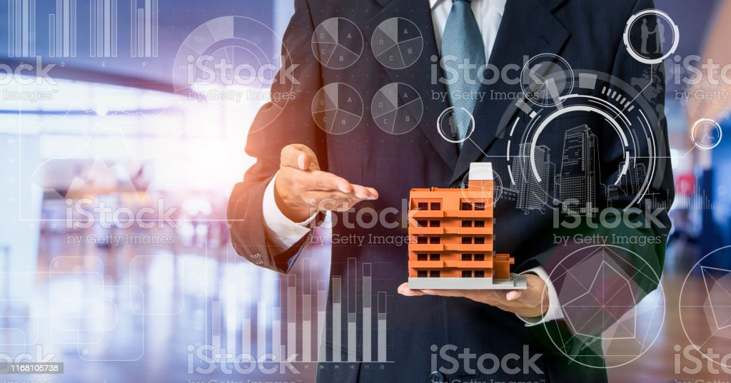 Inspection of building concept. Real estate developer. Earthquake resistant construction. - Royalty-free Accidents and Disasters Stock Photo