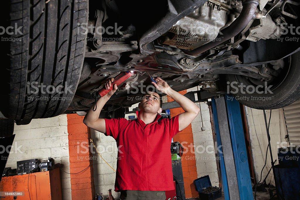 Inspection stock photo