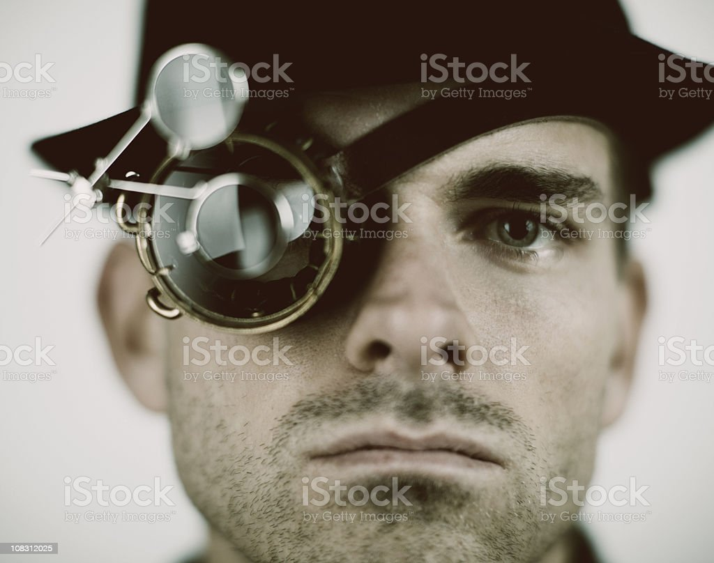 Inspector stock photo